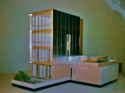 Maquette Vijfhuizen