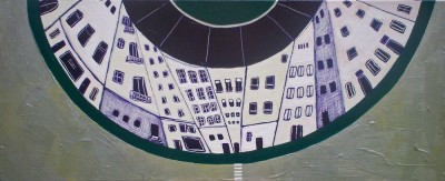Schilderij: City Circle