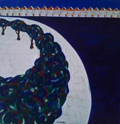 Schilderij: Promenade