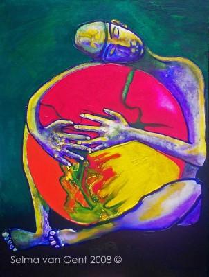 Schilderij: De wereld